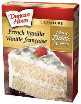 duncan hines wedding cake product vanilla cake mix duncan hines canada 174 13785