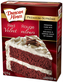 Product: Red Velvet Cake Mix Duncan Hines Canada
