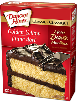 Duncan Hines Recipes Butter Golden Cake Mix