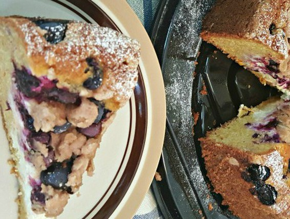 Recipe Blueberry Streusel Cheese Coffe Cake Duncan