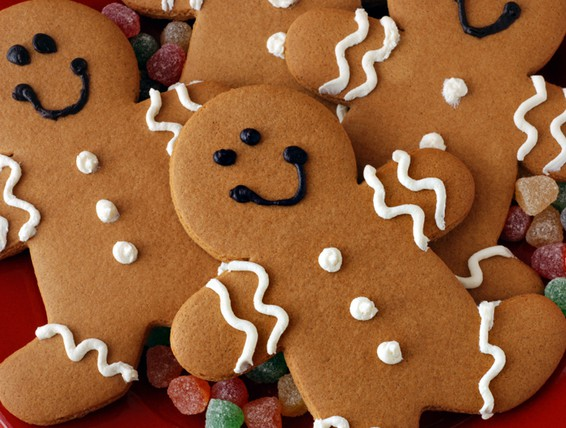 Gingerbread Cookies Made With Spice Cake Mix