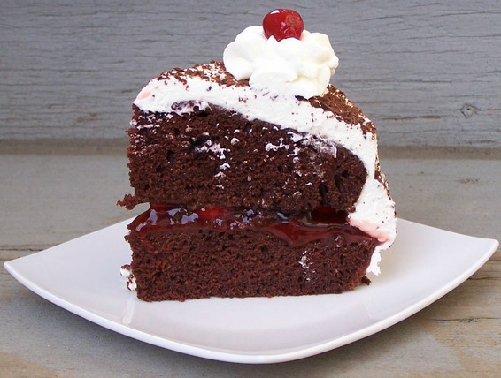 Easy Black Forest Cake With Cake Mix
