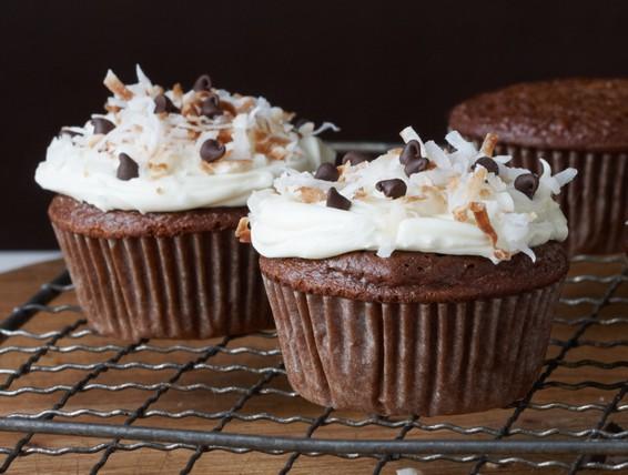 Duncan Hines German Chocolate Cake Mix Cupcakes