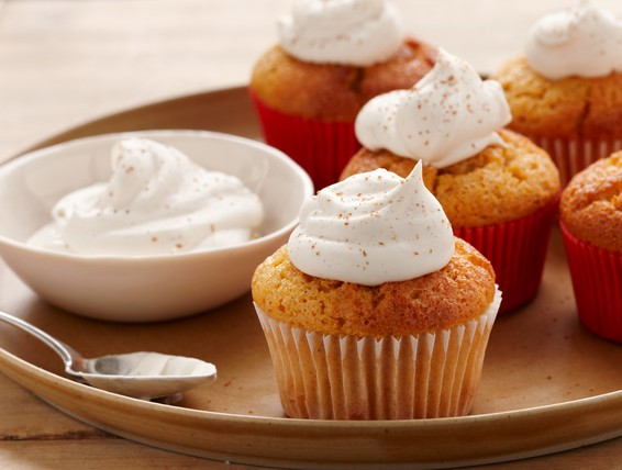 Duncan Hines Spice Cake Pumpkin Cupcakes