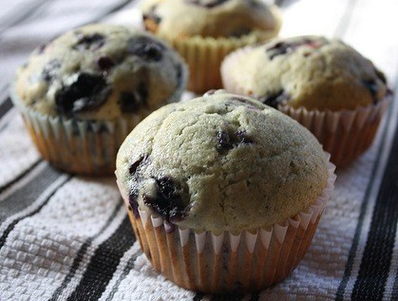 Duncan Hines Cake Mix Blueberry Muffins