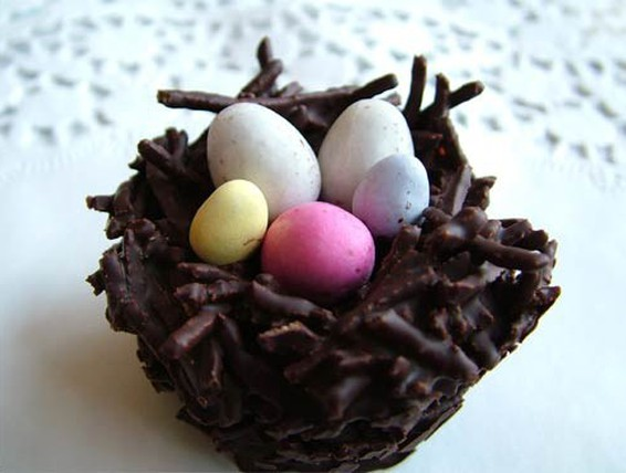 Recipe Chocolate Easter Nests Duncan Hines Canada 174