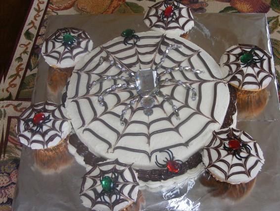 Recipe Halloween Spider Web Cake Duncan Hines Canada 174