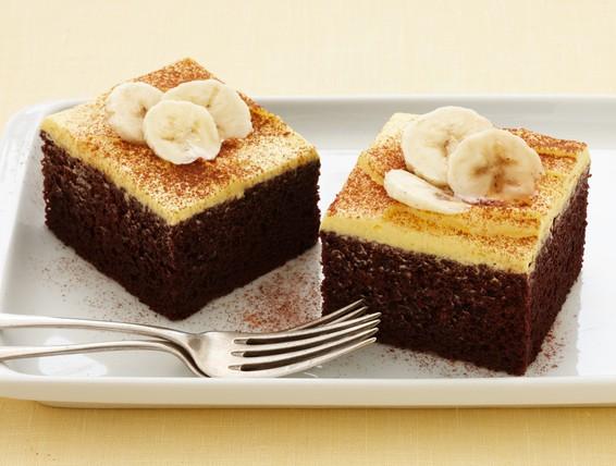 Banana Cake Recipe Chocolate Icing: Recipe: Chocolate Banana Cake