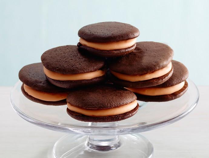Orange Creme Sandwich Cookies With Cake Mix