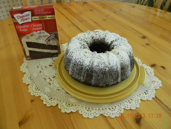 Duncan Hines Chocolate Cake Mix With Pudding