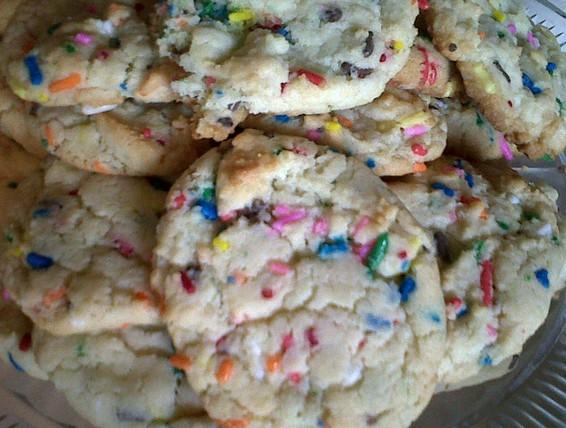 Duncan Hines Confetti Cake Cookie Recipe