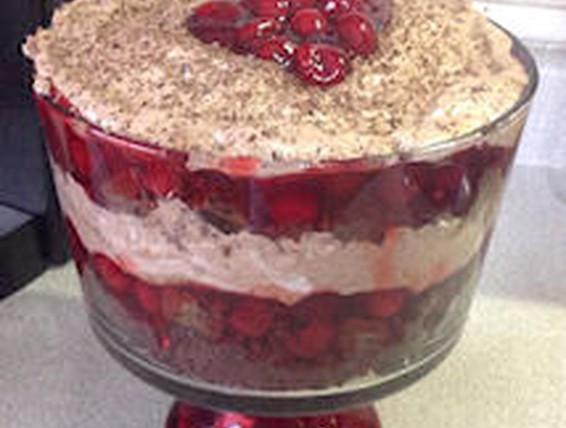 Recipe Triple Chocolate Cherry Trifle Duncan Hines Canada 174