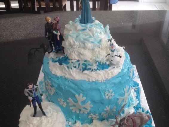 Recipe Frozen Birthday Cake