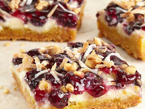 Recipe Blueberry Lemon Snack Bars Duncan Hines Canada 174