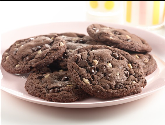 Double Chocolate Cookies From Cake Mix