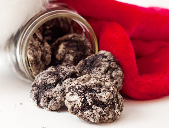 Duncan Hines Chocolate Cake Mix Crinkle Cookies