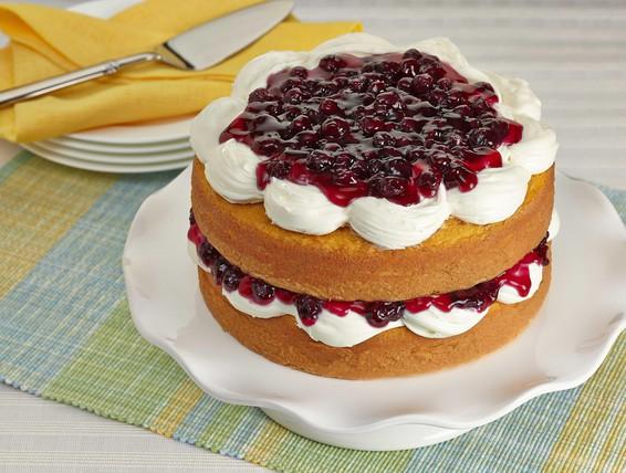 Duncan Hines Lemon Blueberry Cake Recipe