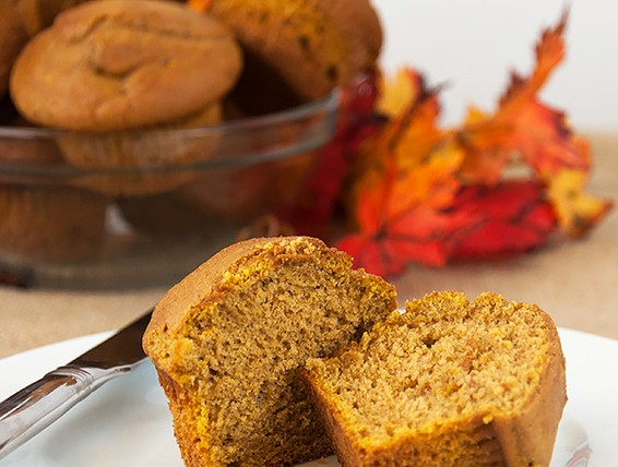 Recipe For Pumpkin Muffins Made With Cake Mix