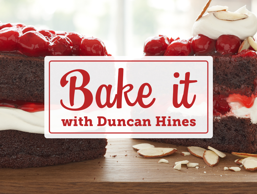 Bake it with Duncan Hines