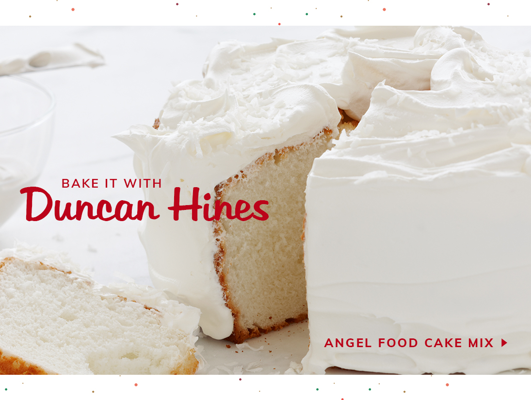 Bake with Duncan Hines in 2021!