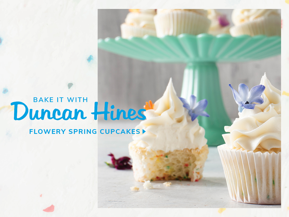 Bake your favourite treats with Duncan Hines