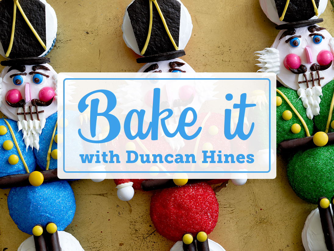 Bake it in December with Duncan Hines!