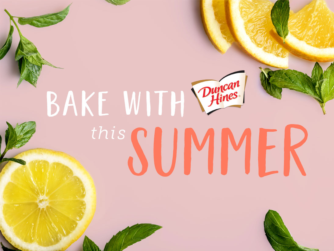 Bake with Duncan Hines this Summer